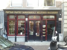 Poptasi Pastry Deliciously Dangerous Macarons - a short walk from Central Bliss Apartment in Amsterdam, also offers workshops.  Gerard Doustraat 103  1073 VS Amsterdam