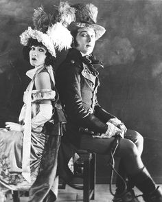 Gloria Swanson and Rudolph Valentino for Beyond the Rocks (1922)