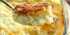 Aprenda de forma rápida uma ótima receita de Batata cremosa ao forno. As receitas de batata são sempre bem vindas para quem deseja fazer um bom acompanh