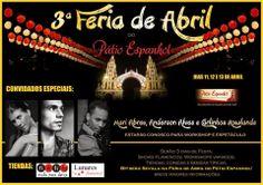 El Cajón Flamenco: Está chegando a Feria de Abril do Pátio Espanhol B...