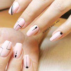 Perfect 100 Ideas Easy Nail Art Designs for Short Nails , Simple Nail Art Designs, Easy Nail Art, Simple Art, Nail Designs, Fabulous Nails, Gorgeous Nails, Make Design, Creative Design, Rainbow Hair