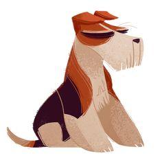 235: Wire Fox Terrier (Dog Week, day 2)