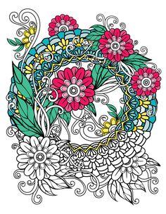 Black Background Mandalas Coloring Book For Adults BONUS 60