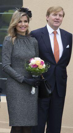 Les souverains des Pays-Bas en visite dans le Limbourg