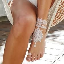 Image result for white henna lace