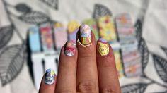 Full post here : http://pannamarchewa.blogspot.com/2013/08/o-sodkich-naklejkach-od-born-pretty.html Use the nail art product here :  http://www.bornprettystore.com/black-nail-water-decals-sticker-transfer-stickers-d217d233d237d239d240d248d252d253d256-p-6598.html Use the code  SUL91 for a 10% discount!