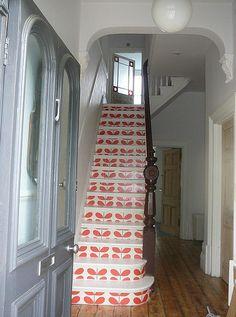 Orla Kiely staircase