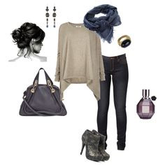 Casual, created by angiebird.polyvor...  i love this whole outfit!
