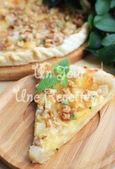 Photo de la recette Tarte au camembert et aux pommes de terre