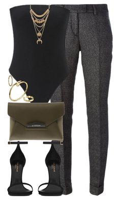 They do not love that do not show their love. by quiche on Polyvore featuring polyvore fashion style Viktor & Rolf Yves Saint Laurent Givenchy Charlotte Russe women's clothing women's fashion women female woman misses juniors