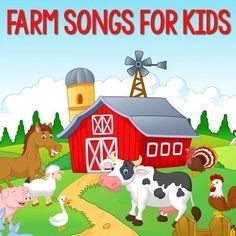 10 Farm Songs For Preschool, Pre-K and Kindergarten Kids | Farm songs, Farm theme preschool, Animal