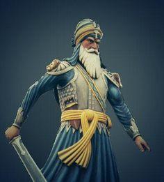 Baba Deep Singh Ji, Warriors Wallpaper, Sai Baba Photos, Irish Men, Religion, Military, Princess Zelda, India, Farmer Painting