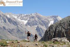 Women trekking in the Taurus Mountains with Demavend Travel in Turkey.