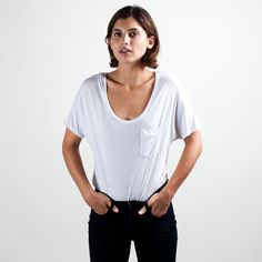 Everlane's Classic Ryan Tee in White $25
