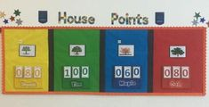 School house systems help foster a sense of community and friendly competition. Get tips for using Harry Potter houses or another house system in schools. Birthday Display Board, Birthday Display In Classroom, Classroom Display Boards, Middle School Classroom, Classroom Walls, Classroom Displays, Classroom Themes, Primary School, School Staff