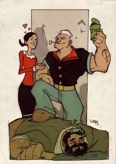 Love my Popeye !