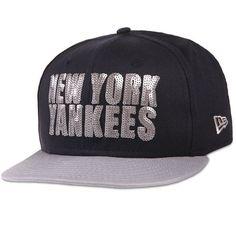 c5f8c9ff4b0 New York Yankees New Era Women s Get Fancy 9FIFTY Adjustable Hat -  Navy Gray -