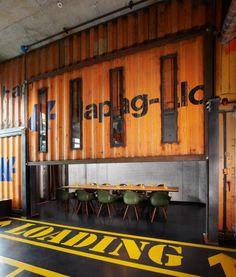 Tagungsraum Übersee-Container Meeting Room Übersee-Container