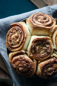 Most delicious sticky buns filled with pastry cream, cinnamon and chopped pecans for a heavenly start to the day.