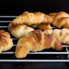 croissants using local ingredients for a french recipe