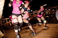 These are my gals! Long Beach Roller Derby: TITs vs the Hot Broads in June, 2011. Go to the blog and check out ALL the photos!