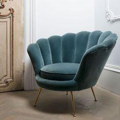 Eichholtz Green Trapezium Chair | Seating | Sweetpea & Willow