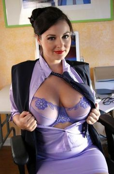 Lorna as the Hot Secretary..! #senos #tetas howtobiggerbreasts.com