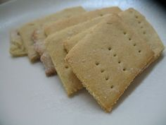 Homemade baby  Crackers
