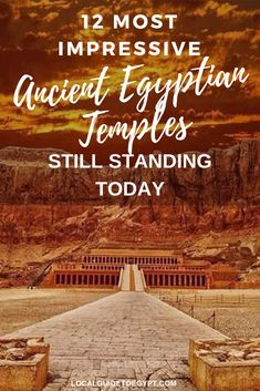 The most awe-inspiring Ancient Egyptian temples that still stand today in Egypt, more than years later. Ancient Egyptian Tombs, Ancient Egyptian Religion, Egyptian Temple, Luxor Temple, Egyptian Art, Egyptian Mythology, Egyptian Goddess, Ancient Artifacts, Ancient Aliens