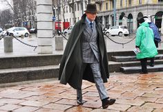 Tommy Ton's Men's Street Style: Milan: Style: GQ