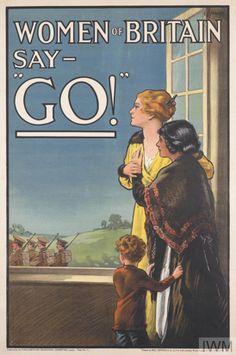 E. J. Kealey: Women of Britain say go (1915)