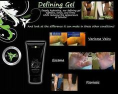 Defining Gel : about half the strength of our Ultimate Body Applicator (Wrap) ... amazing!  https://www.facebook.com/BodyDazzleSkinnyBodyWraps