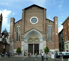 Verona basilica di Sant'Anastasia