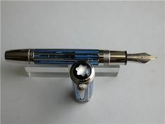MONTBLANC SKELETON WHITE HOUSE FOUNTAIN PEN New, boxed, never inked or used!  #Montblanc #SolidGold