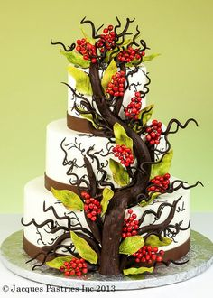 Willow & Berries ~ Jacques Pastries
