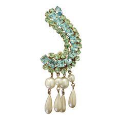 He was my original inspiration for ear cuffs....Vintage Christian Lacroix Couture Earring