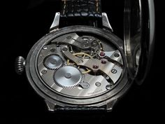 Mens 1940s ULYSSE NARDIN Vintage MILITARY STYLE Watch LOCLE GENEVE