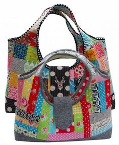 Red Pepper Quilts: Quilt As You Go - Tiny Tinker Tote