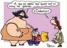 imagen graciosa de mi nene quiere ser diabético de mayor . Más #humor en www.lasfotosmasgraciosas.com