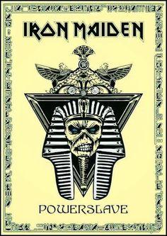 Heavy Metal Art, Heavy Metal Bands, Bruce Dickinson, Hard Rock, Iron Maiden Mascot, Iron Maiden Powerslave, Iron Maiden Band, Eddie Iron Maiden, Iron Maiden Posters