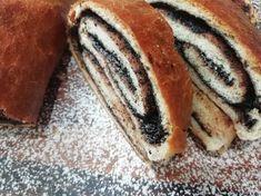 Babičkin kakaový závin, najlepší fotoRECEPT Hot Dog Buns, Bread, Breakfast, Ethnic Recipes, Food, Cakes, Basket, Morning Coffee, Cake Makers
