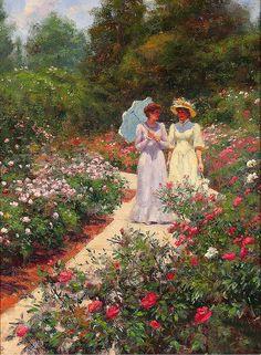 Gregory Frank Harris - June Roses