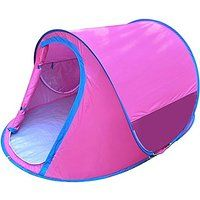 Today's Deals Generic Portable Outdoor 2 Person Tent Peach sale