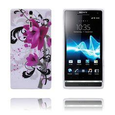 Symphony (Lilla Blomster) Sony Xperia S Deksel