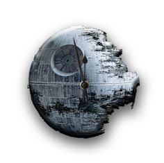 Death Star Wall Clock by ClockworkOregon on Etsy, $35.00