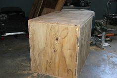 Broke Guy's Gym: DIY 3-sided Plyo Boxes...