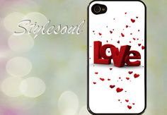 Love  iPhone 4 / 4S Case iPhone 5 Case by stylesoul on Etsy, $14.99