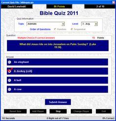 Agree, your bible quiz teen