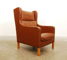 High back club chair by Stouby   CHASE & SORENSEN // DANISH MODERN FURNITURE & HOME DÉCOR