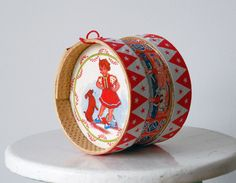Traditional Portuguese Drum Toy.